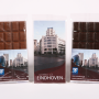 Chocoladereep Eindhoven 3 stuks gedraaid